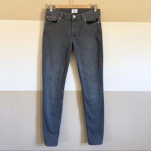 Hudson Krista Super Skinny Jeans Gray Size 27